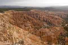 Alba in canyon di Bryce Fotografie Stock