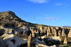 Alba a Cappadocia Fotografia Stock Libera da Diritti