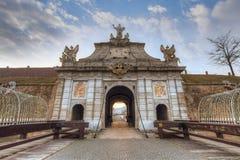 Alba Carolia forteca w Rumunia Obrazy Royalty Free