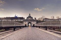 Alba Carolia Fortress in Romania. Royalty Free Stock Photography