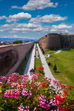 Alba Carolina citadel in Alba Iulia, Romania Royalty Free Stock Photos