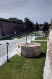 alba carolina fästning Arkivbild