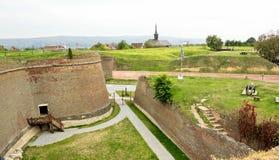 Alba Carolina Fortress royalty free stock photo