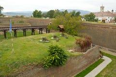 Alba Carolina fortress Royalty Free Stock Photography