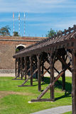 Alba Carolina Fortress-Cetatea de la Alba Iulia stock images