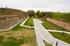 Alba Carolina Fortress-Cetatea de la Alba Iulia Royalty Free Stock Photos