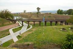 Alba Carolina Fortress-Cetatea de la Alba Iulia Royalty Free Stock Images