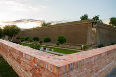 Alba Carolina fortress Stock Image