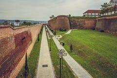 Alba Carolina fortress, Romania Royalty Free Stock Photo