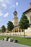 Alba Carolina, 15 Juni: Kroningskathedraal van Alba Carolina Fortress in Roemenië Royalty-vrije Stock Afbeeldingen