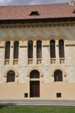 Alba Carolina, 15 Juni: Sluit omhoog van Hoofdkwartier van Kroningskathedraal van Alba Carolina Fortress in Roemenië Stock Afbeeldingen