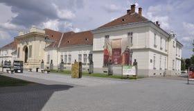 Alba Carolina, 15 Juni: Unie Museum van Alba Carolina Fortress in Roemenië Stock Afbeelding