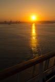 Alba a Cartagine Fotografia Stock Libera da Diritti