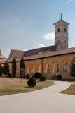 alba cathderal katolsk iulia Arkivfoto