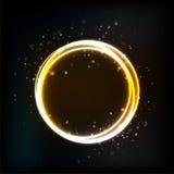 Alba cosmica astratta Fotografia Stock