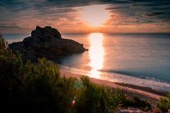 Alba Costa Daurada immagini stock libere da diritti
