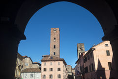 Alba (Cuneo, Italien) Lizenzfreie Stockfotos