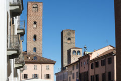 Alba (Cuneo, Italy) Royalty Free Stock Photo