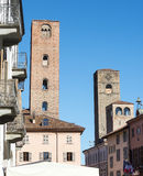 Alba (Cuneo, Italy) Royalty Free Stock Images