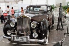 Alba d'argento della Rolls Royce 2.997 cc, automobili dell'annata Immagine Stock Libera da Diritti