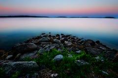 Alba dal Mar Baltico Immagini Stock Libere da Diritti
