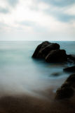 Alba dall'oceano Fotografie Stock Libere da Diritti