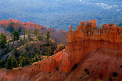 Alba del canyon di Bryce Fotografie Stock Libere da Diritti