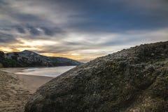 Alba del Laguna Beach Fotografie Stock Libere da Diritti