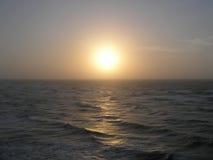 Alba del mare Fotografie Stock
