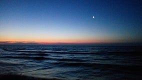 Alba del mare Immagini Stock Libere da Diritti