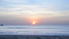 Alba del mare delle Andamane video d archivio