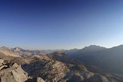 Alba del passo di montagna Immagini Stock