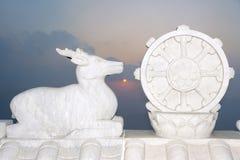 Alba del tempio Fotografie Stock