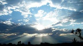 Alba dell'Arizona Fotografie Stock