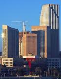 Alba dell'orizzonte di Miami Fotografie Stock