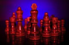 Alba della battaglia Fotografia Stock