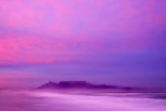 Alba della montagna della Tabella Fotografie Stock