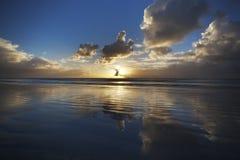 Alba della spiaggia Fotografia Stock Libera da Diritti