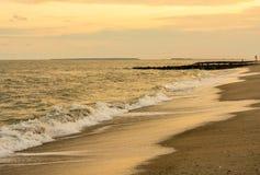 Alba della spiaggia Fotografie Stock Libere da Diritti