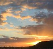 Alba delle Hawai fotografia stock