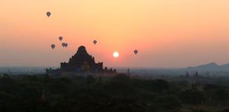 Alba di Bagan Fotografia Stock Libera da Diritti