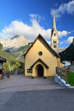 Alba di Canazei - small church Stock Images