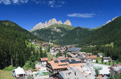 Alba di Canazei, Trentino, Italy Stock Photography