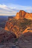 Alba di Canyonlands Immagini Stock Libere da Diritti