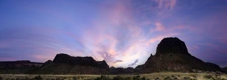 Alba di Canyonlands Immagine Stock