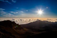 Alba di Haleakaka Immagini Stock
