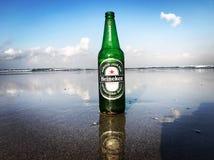 Alba di Heineken Fotografie Stock Libere da Diritti