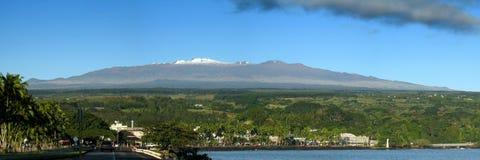Alba di Hilo Mauna Kea Fotografia Stock