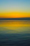Alba di lago Michigan Fotografia Stock Libera da Diritti