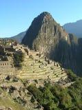 Alba di Machu Picchu fotografia stock